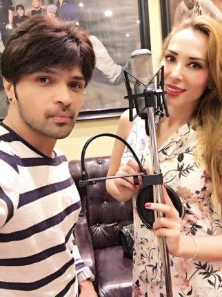 Salman Khan's alleged girlfriend Iulia Vantur joins Himesh Reshammiya