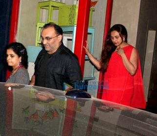 Aditya Chopra and Rani Mukerji snapped post birthday bash at Bandra 190