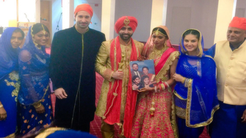 Check out Sunny Leone's Punjabi avatar at her brother's wedding-1