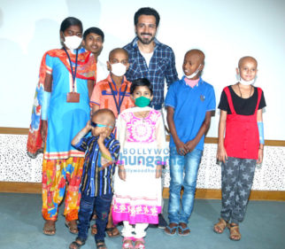 Emraan Hashmi meets special kids at Tata Memorial Centre
