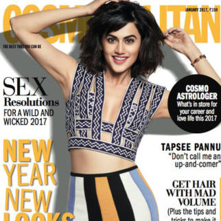 Taapsee Pannu On The Cover Of Cosmopolitan