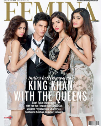 Shah Rukh Khan On The Cover Of Femina