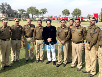 Govinda visits BSF camp in Delhi to promote Aa Gaya Hero