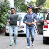 Hrithik Roshan snapped meeting his fans on his birthday