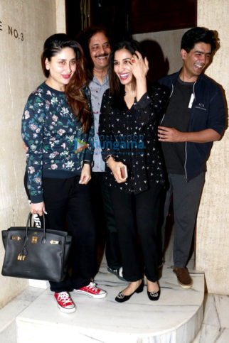 Kareena Kapoor Khan & Sophie Choudry snapped post dinner at Manish Malhotra's house