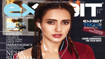 Neha Sharma On The Cover Of Exhibit