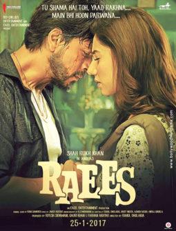 RAEES (2017) con SRK + Jukebox + Sub. Español + Online Raees-255x335