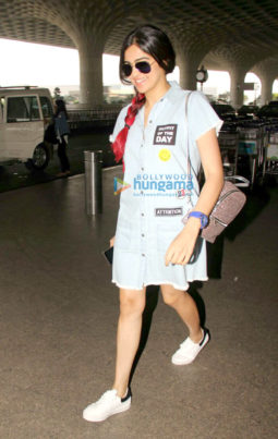 Adah Sharma snapped at the airport