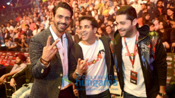 Celebs at Super Fight League Finals