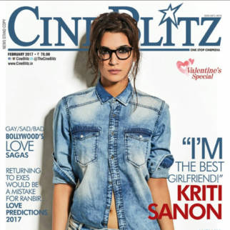 Kriti Sanon On The Cover Of Cine Blitz