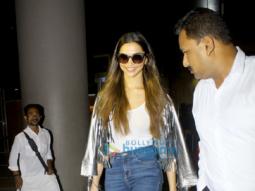 Deepika Padukone arrives back from NYFW