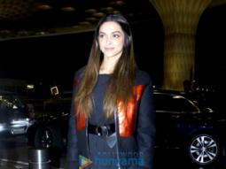 Deepika Padukone snapped leaving for China