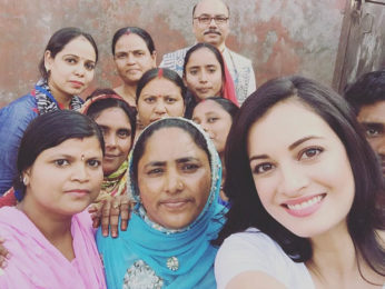 Check out: Dia Mirza joins kids for sanitation drive