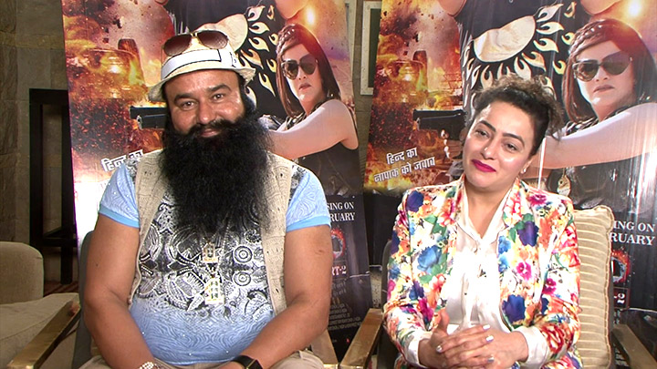 Image result for ram rahim honeypreet