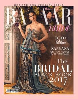 On the covers of Harper's Bazaar