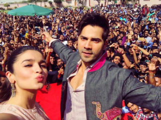 Jaipur goes 'Tamma Tamma' for Varun Dhawan and Alia Bhatt