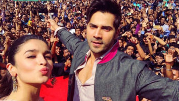 Jaipur goes 'Tamma Tamma' for Varun Dhawan and Alia Bhatt