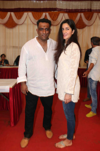 Katrina Kaif, Aditi Rao Hydari attend Anurag Basu's much celebrated Saraswati Puja