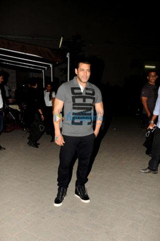 Salman Khan & Amy Jackson snapped post Being Human brand shoot