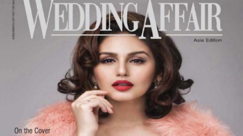 Huma Qureshi On The Cover Of Wedding Affair,Dec 2014