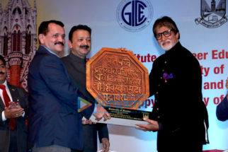 Amitabh Bachchan inaugurates Ramesh Sippy Academy of Cinema and Entertainment at Mumbai University