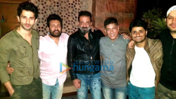 Celebs at Bhoomi's party hosted by Bhushan Kumar