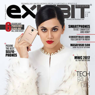 Taapsee Pannu On The Cover Of Exhibit