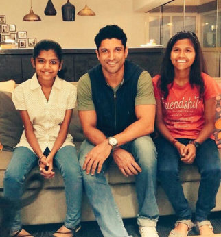 Farhan Akhtar meets real and reel life Poorna News