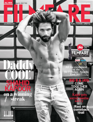 Shahid Kapoor On The Cover Of Filmfare