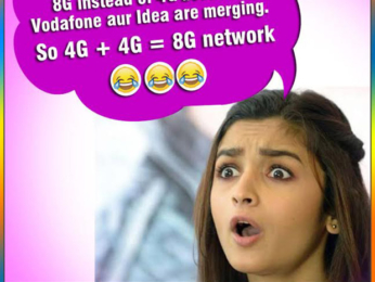 ROFL Vodafone and Idea are merging and Alia Bhatt is super excited. Read on to know why