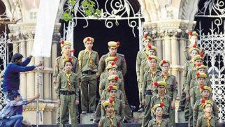 Ranbir Kapoor looks in Scout uniform for Jagga Jasoos