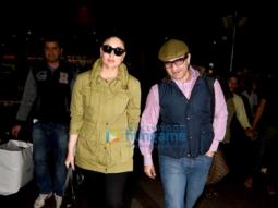 Saif Ali Khan & Kareena Kapoor Khan return from London