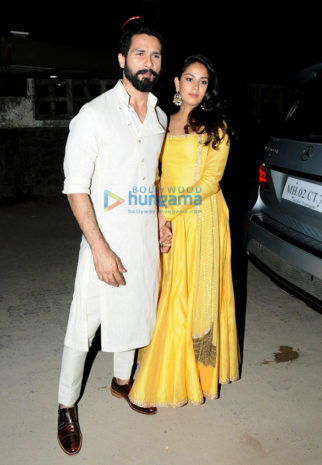 Shahid Kapoor, Mira Rajput, Tusshar Kapoor, Aftab Shivdasani and others at Gaurav-Mandana wedding party