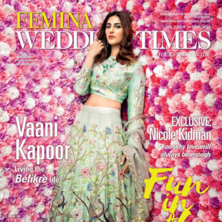 Vaani Kapoor On The Covers Of Femina