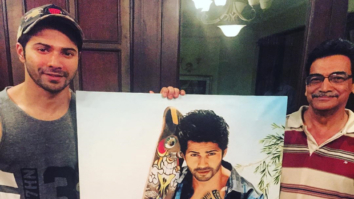 Varun Dhawan's fan gifts him lifelike painting