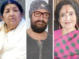 """Aamir Khan is very dear to me"" - Lata Mangeshkar on giving the Pandit Dinanath Mangeshkar award to Aamir & Vyjanthmila"