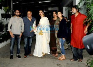 Alia Bhatt, Rekha and Vidya Balan grace the screening of 'Begum Jaan'