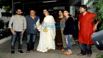 Alia Bhatt, Rekha and Vidya Balan grace the screening of 'Begum Jaan'