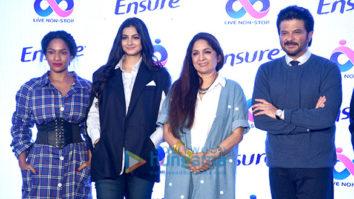 Anil Kapoor, Rhea Kapoor, Masaba Gupta and Neena Gupta at Abbott event