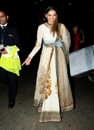 Anil Kapoor, Sanjay Dutt, Deepika Padukone and Disha Patani snapped at the airport