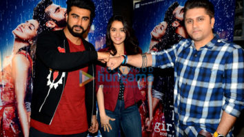 Arjun Kapoor, Shraddha Kapoor & Mohit Suri snapped at 'Half Girlfriend' promotions