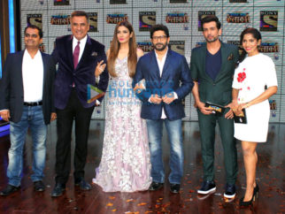 Boman Irani, Raveena Tandon & Arshad Warsi grace the launch of Sabse Bada Kalakaar
