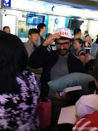 Check out: Aamir Khan gets a grand welcome in China as he goes there to promote Dangal