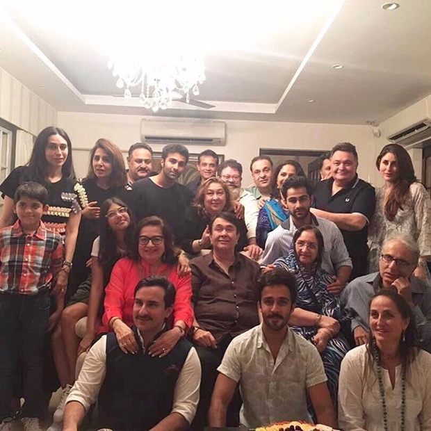 Kareena Kapoor Khan and Karisma Kapoor celebrate mom's 70th birthday with the Kapoor clan