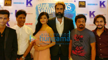 Ranvir Shorey, Gracy Singh and others snapped promoting the film Blue Mountains