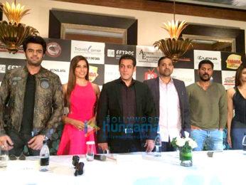 Manish Paul, Bipasha basu, Salman Khan, Prabhu Dheva, Daisy Shah