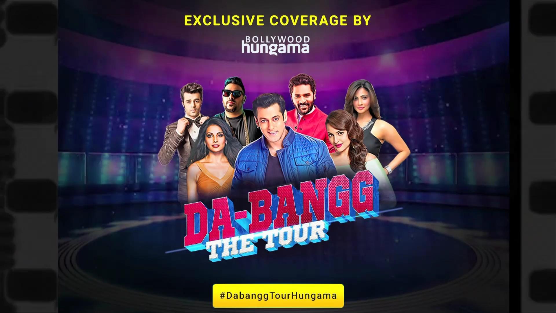 Dabangg tour tickets