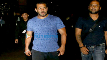 Salman Khan and family arrives back from Maldives post celebrating Ahil's first birthday