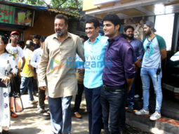 Sanjay Dutt shoots for 'Bhoomi'