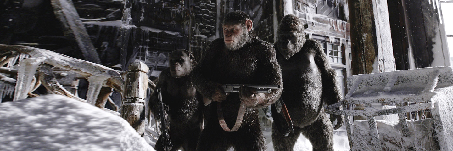 War For The Planet Of The Apes (English)